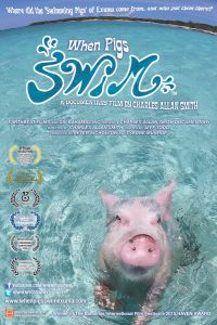 HI RES when pigs swim full poster